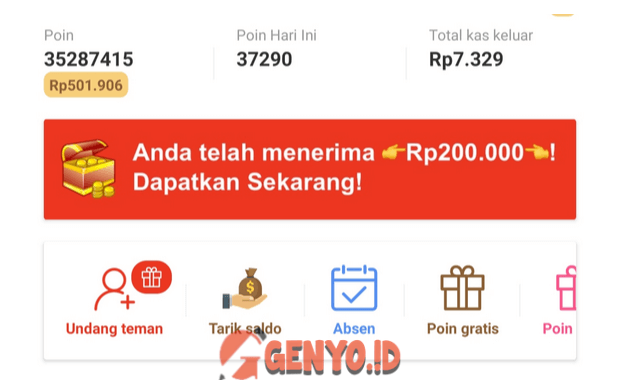Cara Mengundang Teman Di Buzzbreak Dan Mendapatkan 200 Ribu