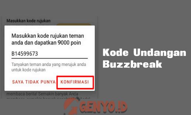 kode undangan BuzzBreak