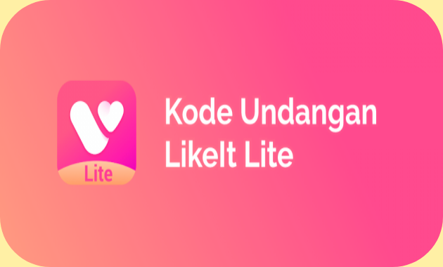 kode undangan like it lite